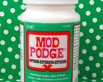 Mod Podge Outdoor Decoupage