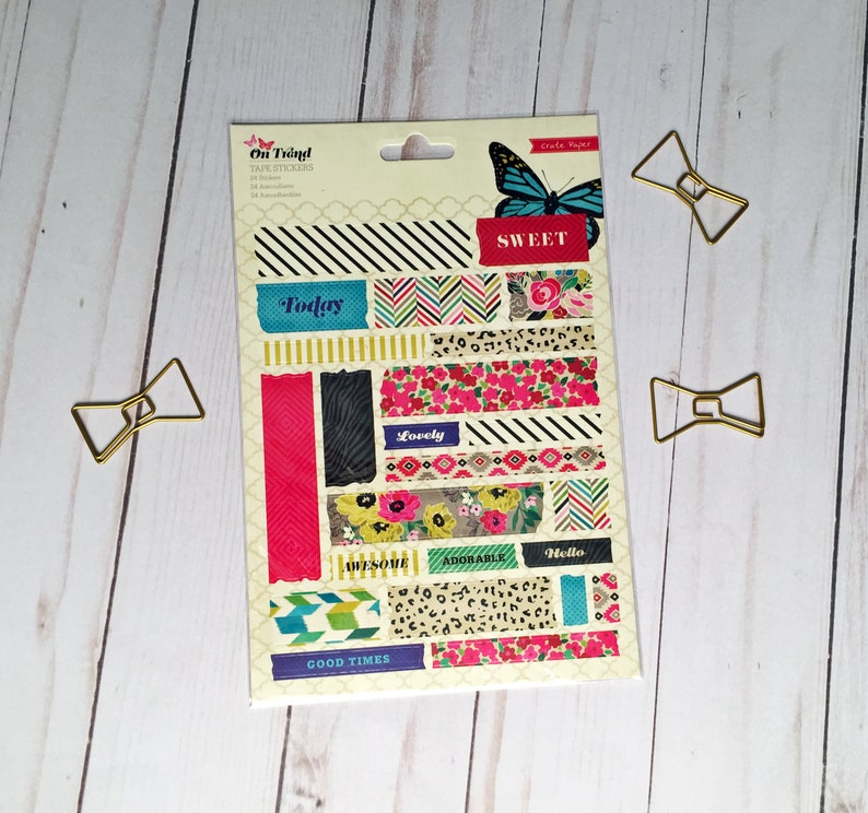 Crate Paper On Trend Sticker Sheet image 0