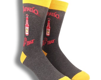 I'd Tap That Tapatio Hot Sauce Mens Socks
