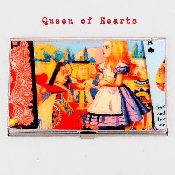 SALE Choice Of Alice In Wonderland Business Card Holder