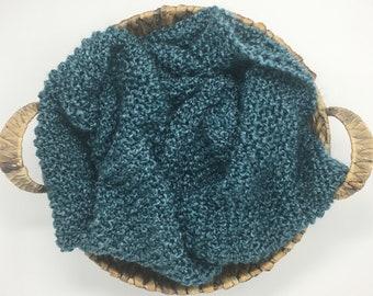 Soft as a Cloud Blanket - Seaglass - Newborn Photography Prop Blanket