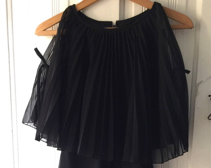 Vintage Selfridges London little black dress