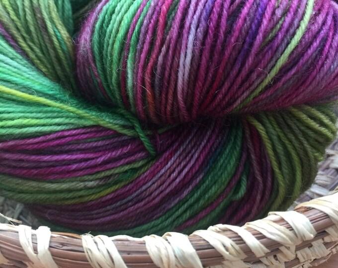 Insouciant Studios Hand Dyed Sock Yarn Dahlia