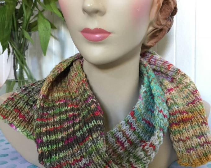 Insouciant Studios Amazing Happy Stripey Knit Scarf