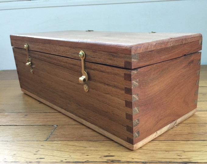 Cherry, Hickory and Oak Box