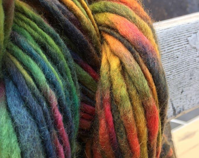 Vibrant Jewels Tonal Thick n Thin Wool Yarn