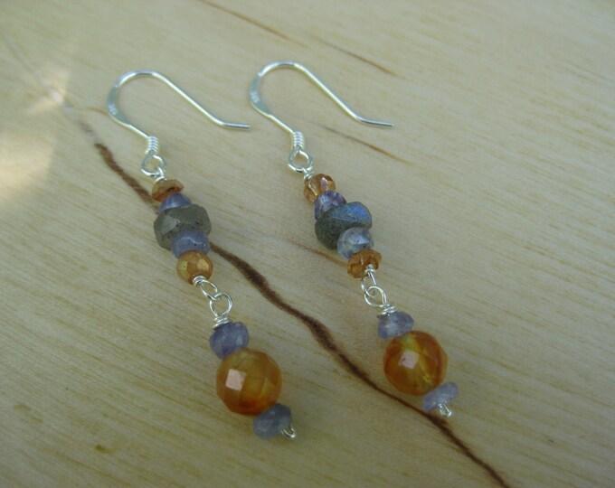 Insouciant Studios Marigold Earrings Sterling Silver Pearl
