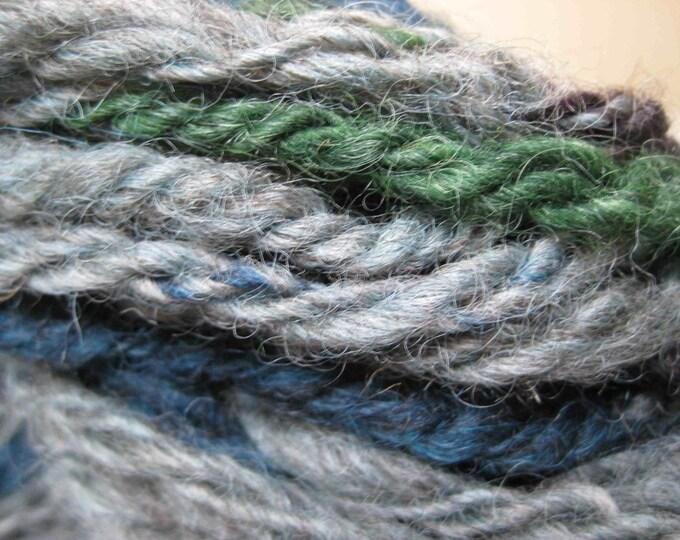 Insouciant Studios Hand Spun Wool Yarn Woodland Moss