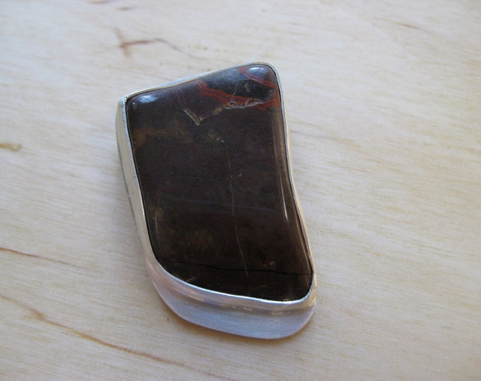 Insouciant Studios Destiny Purple Jasper Brooch Pin