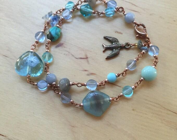 Insouciant Studios Flights of Fancy Swallow Bracelet
