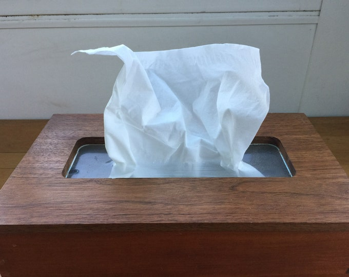 Wood Tissue Box Cover
