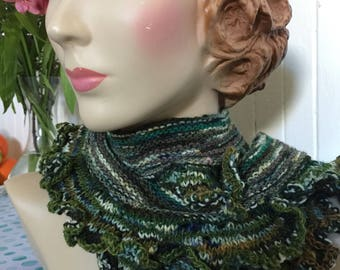 Insouciant Studios Sea Dragon Knit Scarf