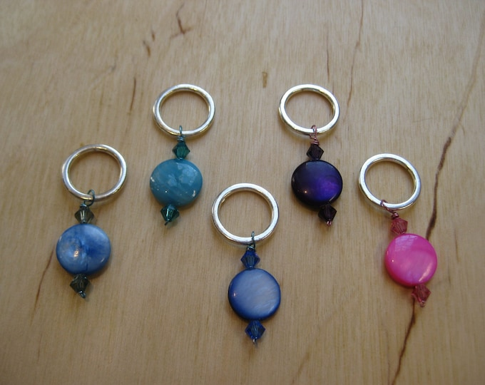 Woolpops Tropique Set of 5 Stitch Markers