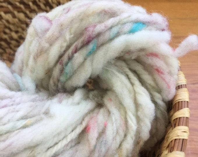 Insouciant Studios Fluff Hand Spun Yarn Mini Skein