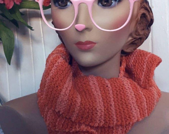 Insouciant Studios Hand Knit Mimosa Stripe Scarf
