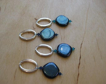 Woolpops Optic Set of 4 Stitch Markers