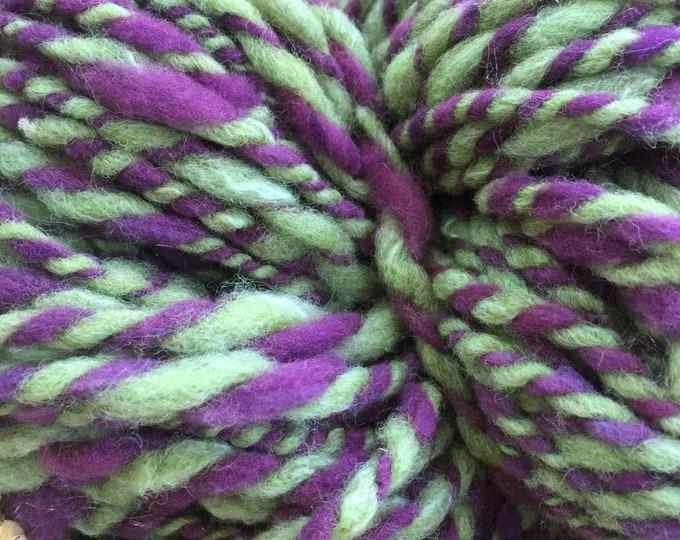 Insouciant Studios Hand Spun Wool Yarn Dahlia