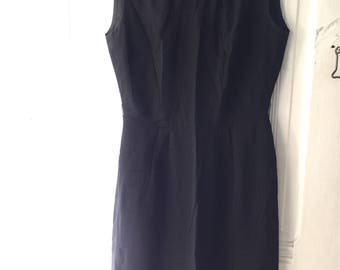 Vintage Little Black Sheath Dress