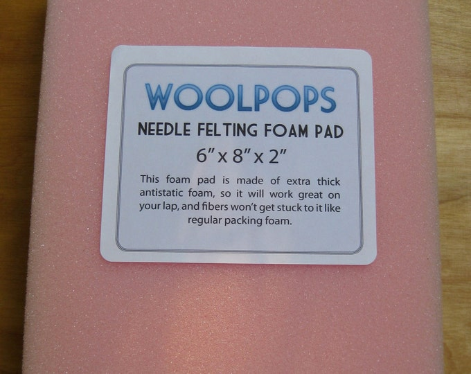 Woolpops Antistatic Needle Felting Foam Pad