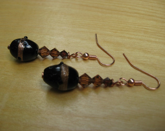 Insouciant Studios Chocolate Earrings Guilt Free Indulgence