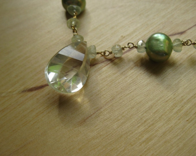 Insouciant Studios Dunes Necklace and Earring Set