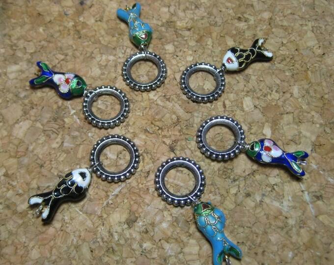 Woolpops China Catch III Stitch Markers