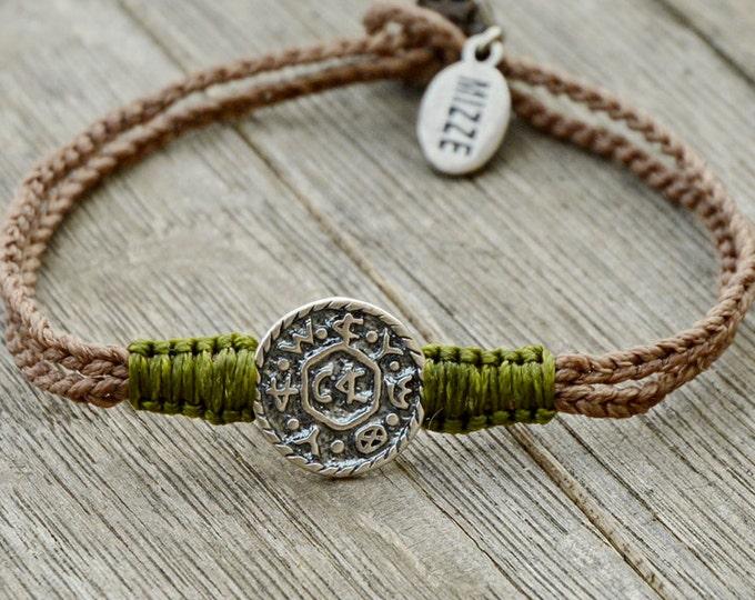 Livelihood King Solomon Amulet Charm Handwoven Bracelet