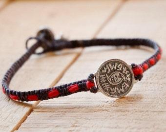 Against Evil Eye Protection King Solomon Amulet Charm Bracelet