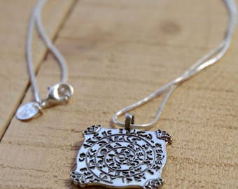 Direction and Purpose Amulet in 925 Sterling Silver for Men & Women
