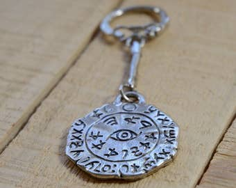 Safe Travel King Solomon Amulet Key Ring