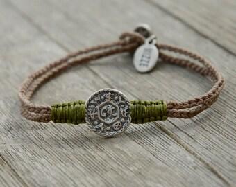 Solomon Seal Handmade Livelihood Bracelet For Men & Women