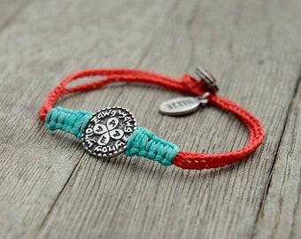 Unisex Love and Relationships King Solomon Amulet Charm Handwoven Love Bracelet for Men & Women