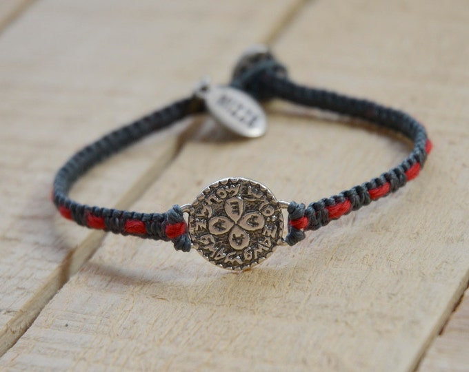 Love Amulet Handwoven with Red String Bracelet - Love Bracelet for Men and Women