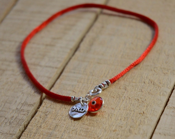 Red String Prosperity and Success Anklet