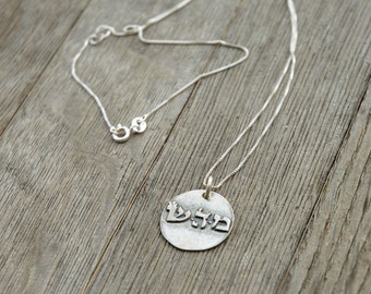 Healing Kabbalah 925 Sterling Silver Pendant - Unisex