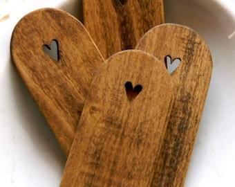 """Small Wooden Paddle """"Round Top"""" ~ from Notforgotten Farm™"""