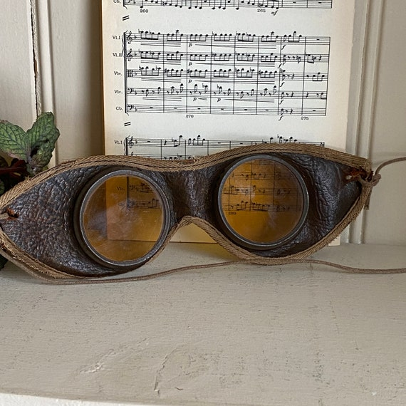 Driving Aviation Goggles Car Motorcycle Antique Vi