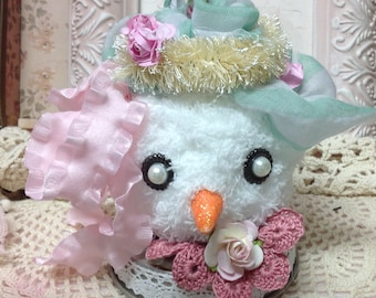 78343858c331 Chenille snowman