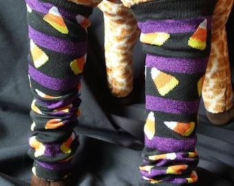 Halloween Candy Corn Themed  Baby Legs/Leg Warmers