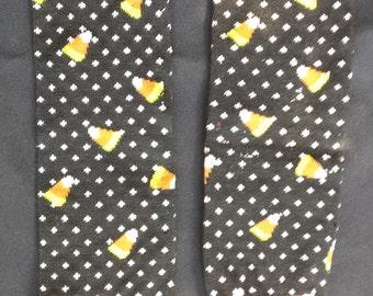 Halloween Themed Candy Corn Polka Dot Baby Legs