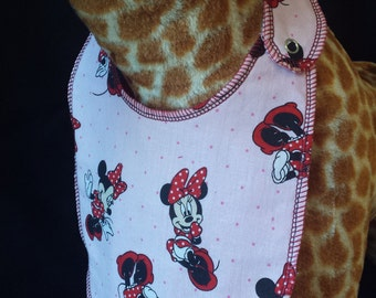 Minnie Mouse Print Baby Bib -  Toddler *ON SALE*