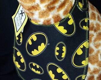 Batman Print Baby Bib - Infant