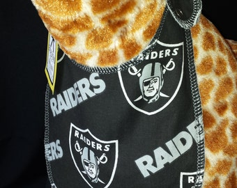 Raiders Football Print Baby Bib - Infant