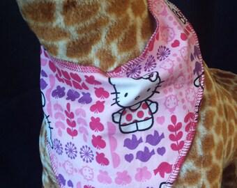 Hello Kitty and Animal Print Baby Neck Bandana