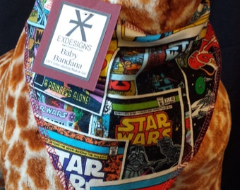 Star Wars Comic Print Baby Neck Bandana