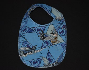 Batman Print Baby Bib - Infant