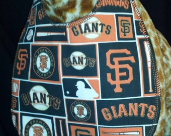San Francisco Giants Baseball Team Baby Bib - Toddler size *Wider Size*