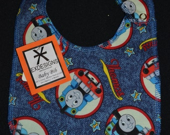 Thomas The Tank Engine Print Baby Bib - Infant
