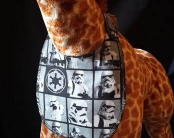 Star Wars Storm Trooper Print Baby Bib - Infant