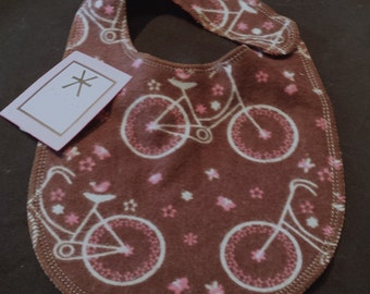 Bicycle Print Baby Bib - Infant *ON SALE*